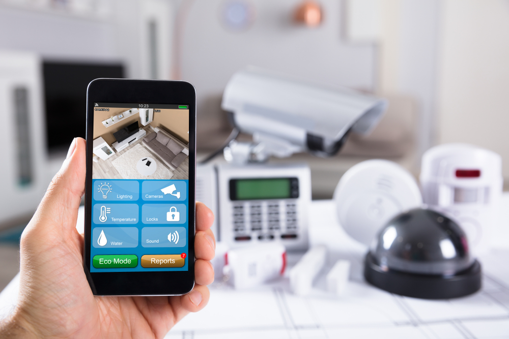 Alarmanlage mit smart home Funktion