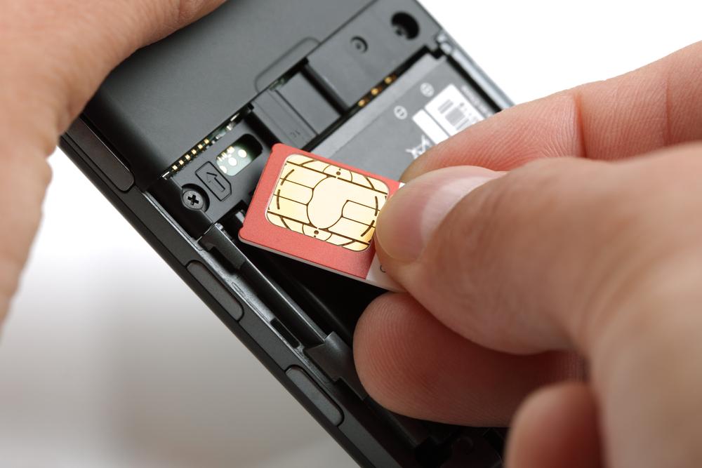 SIM-Karte für die GSM-Überwachung