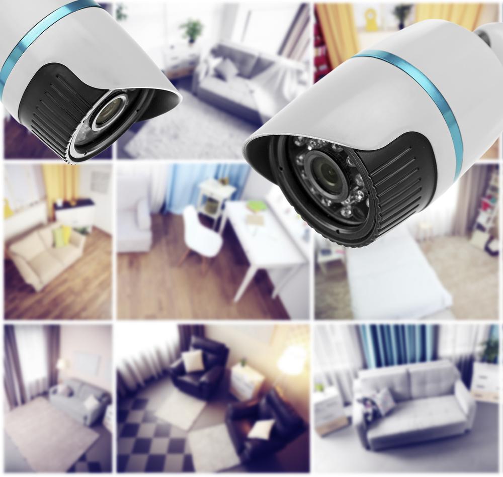 Einbruchschutz mit Überwachungskameras