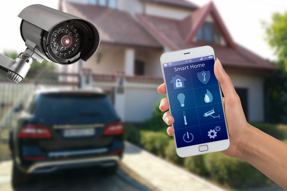 Funkalarmanlage mit smart home Funktion