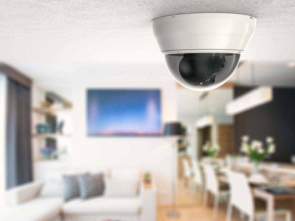 Überwachungskamera im Innenraum