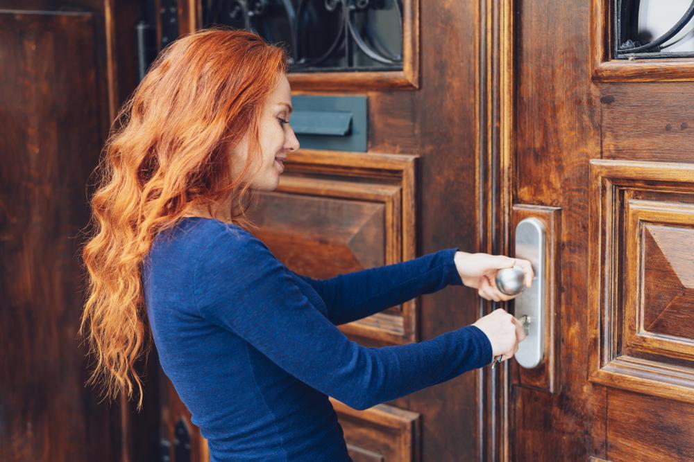 Haustüren einbruchsicher machen