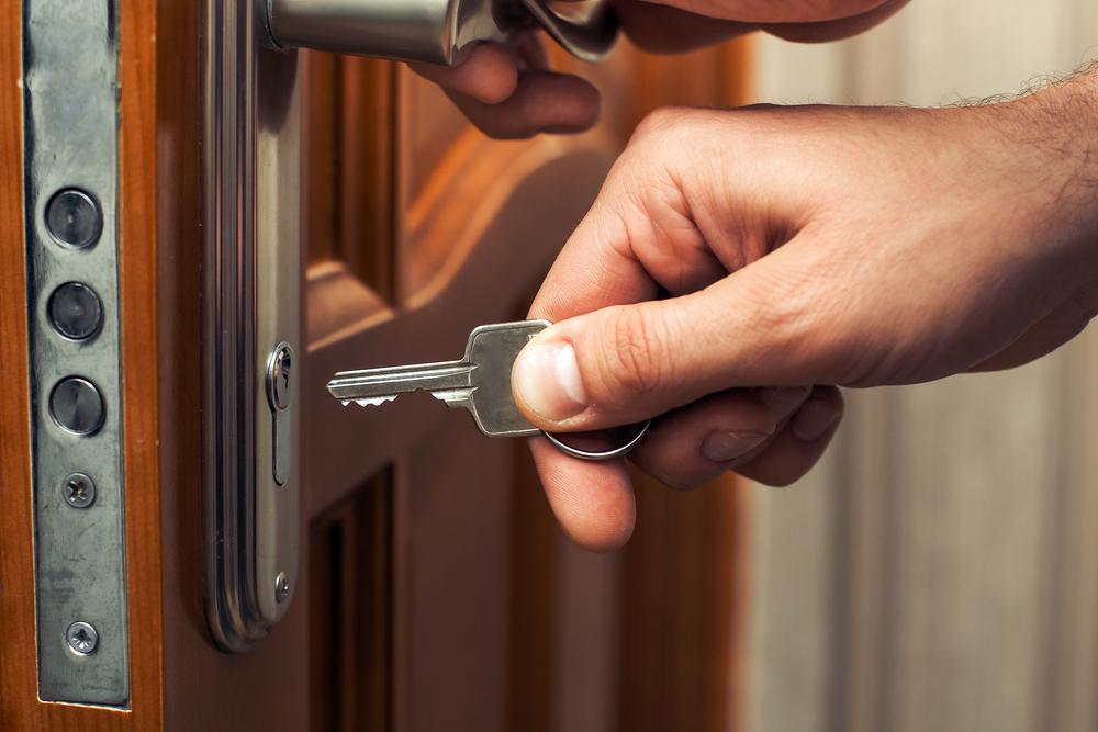 einbruchsicheres Türschloss