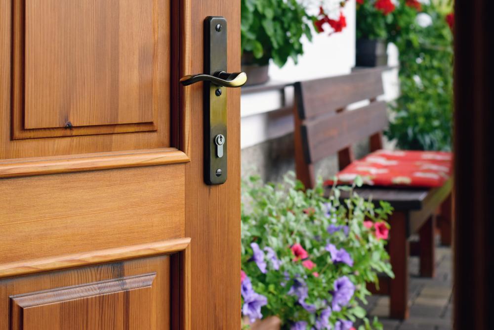 Türen einbruchsicher machen