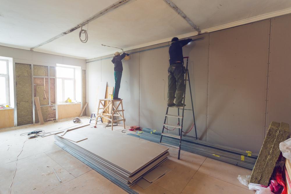 Umbaumaßnahmen für die Kabelgebundene Alarmanlage